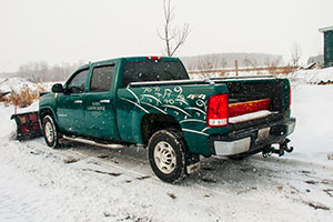 Acorn Landscaping provides landscaping services like snow plowing